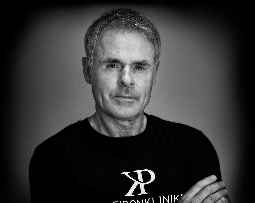 Anders Limpartog hårtransplantation på Poseidonkliniken i Stockholm